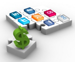 Social strategy finance industry