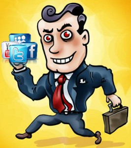 sell social media to stakeholders