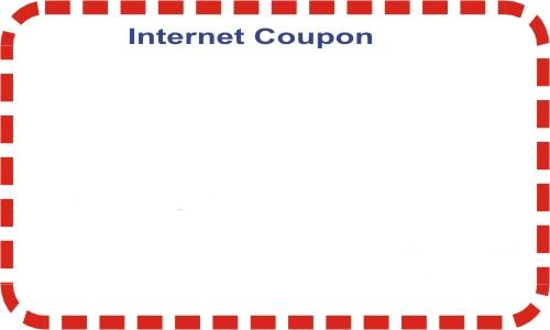 Coupon on social media statistics