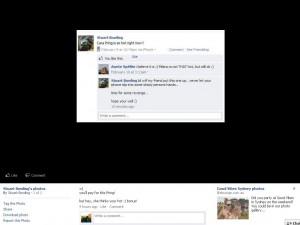 New Facebook Photo Display