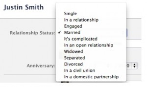 Facebook adds more relationship status options